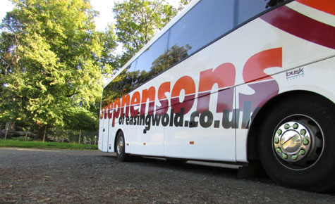 Private coach hire in York