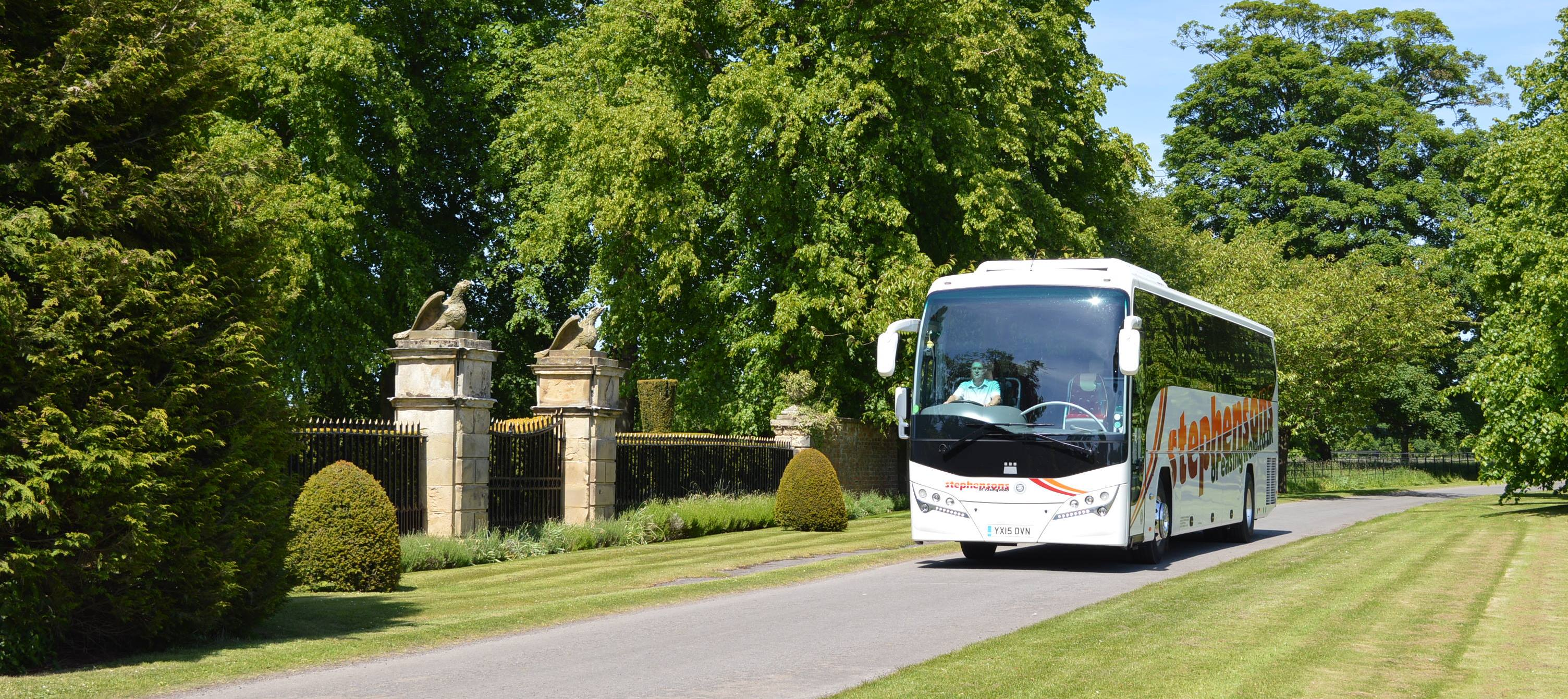 Coach Stately Home 2