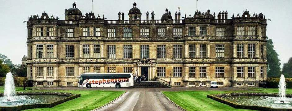 Coach stately home